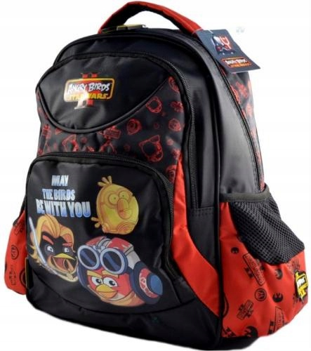 Plecaki Plecak Angry Birds Do Szkoly 2 Komory 7209281164 Oficjalne Archiwum Allegro