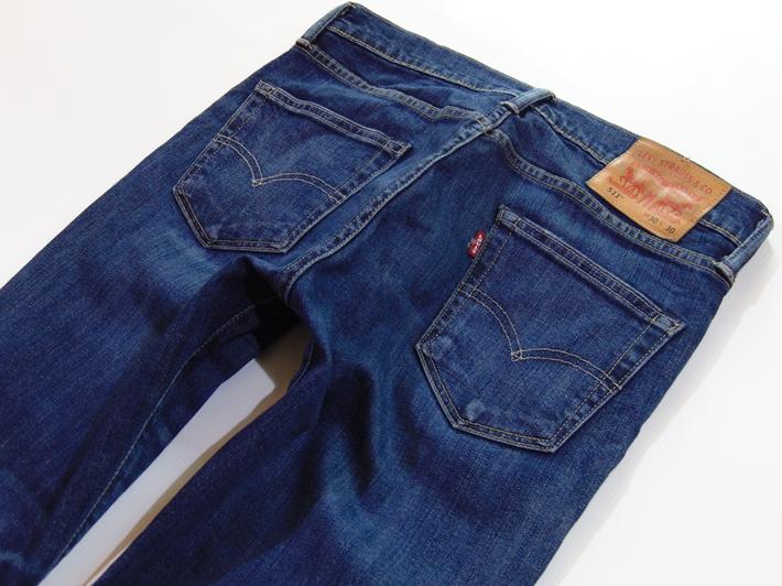 Spodnie Jeans _ LEVI'S 511 _ 3030 _ Pas 81
