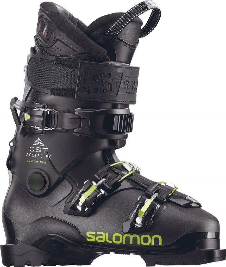 Archiwalne: Komplet narciarski: buty Salomon New Quest 80 +