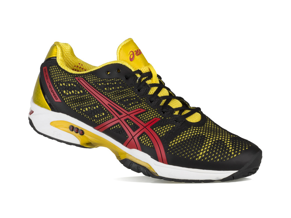 Buty halowe Asics Gel Solution r. 44,5 E400Y 9023