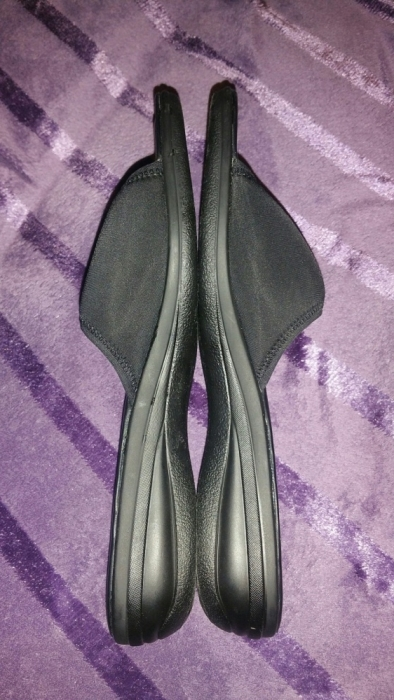 Nowe klapki czarne 42 27,5cm Graceland sandały