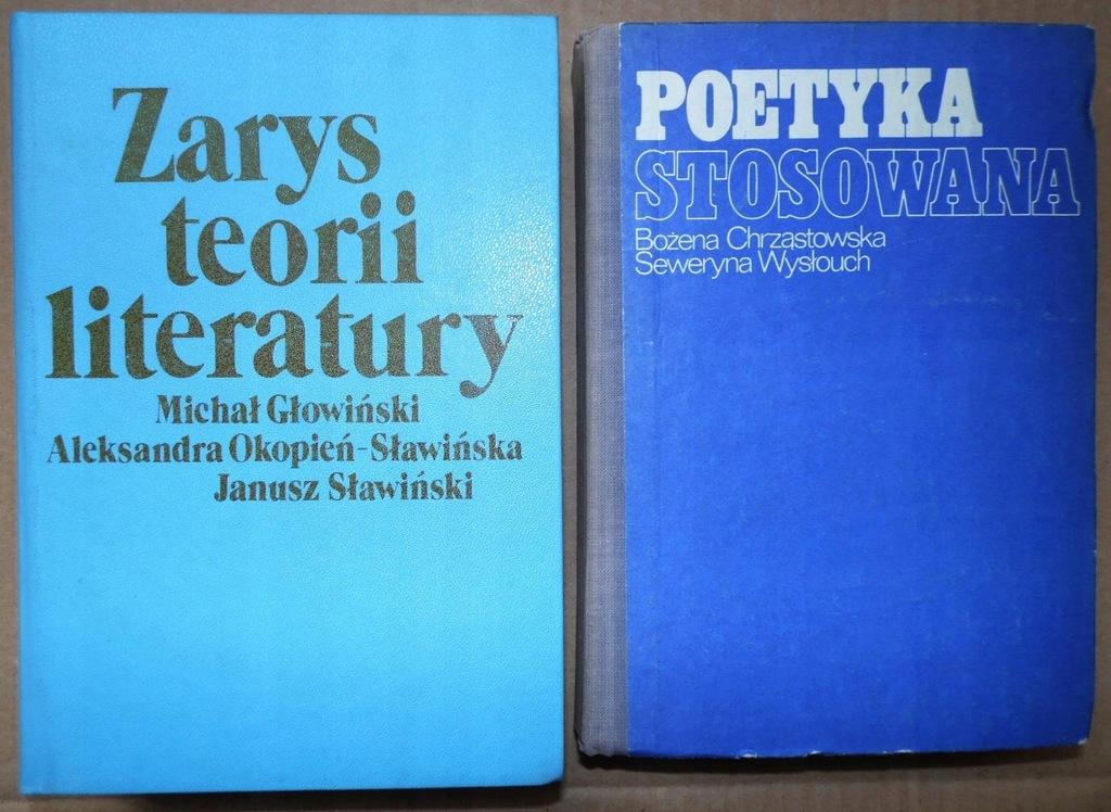 Zarys Teorii Literatury Poetyka Stosowana