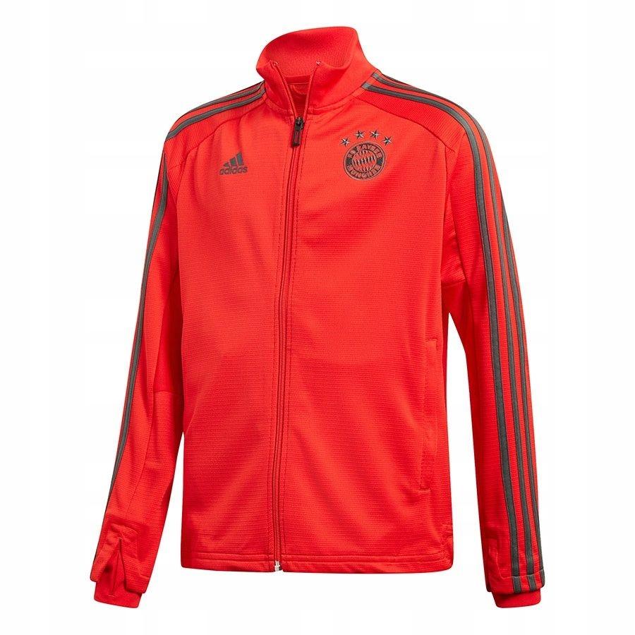 Bluza adidas FC Bayern TR JKT Y CW7291 164 cm czer