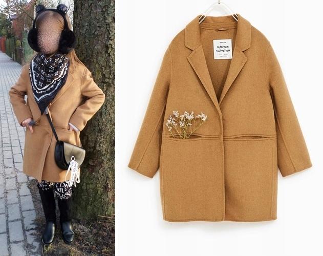 płaszcze dla dzieci zara