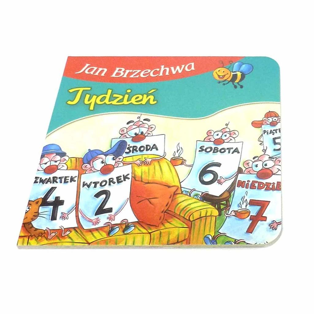 374163 Książeczka Jan Brzechwa Tydzień