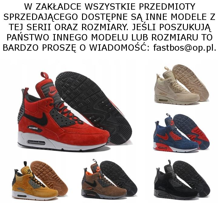 BUTY NIKE AIR MAX 90 SNEAKERBOOT 44 SZYBKA_DOST_PL