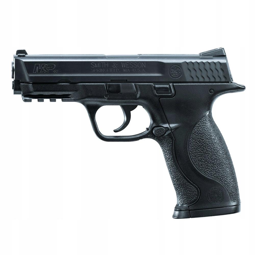 Wiatrówka Pistolet S&W M&P40 4,5mm BB DAO