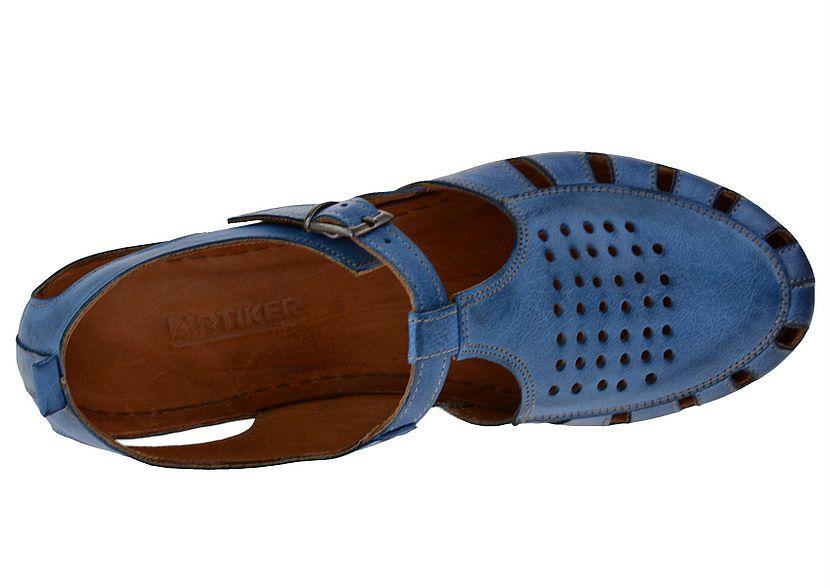 Sandały ARTIKER 42C0303 niebieskie 40 Nowość SMILE