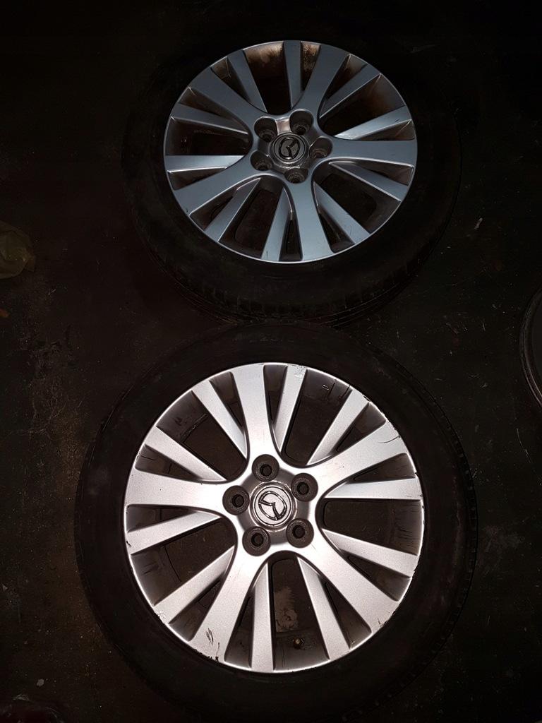 Mazda 6 Gh Felga Aluminiowa 17 Opona 7025794098 Oficjalne Archiwum Allegro
