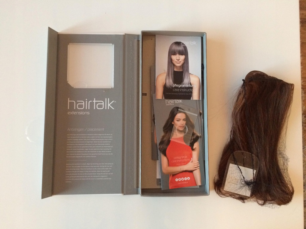 Hairband Wlosy Na Zylce Firmy Hairtalk 7619682450 Oficjalne Archiwum Allegro