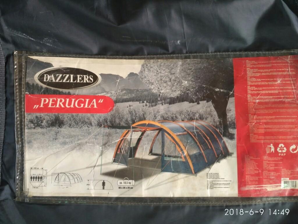 Namiot 5 osobowy PERUGIA 7408110675 oficjalne archiwum