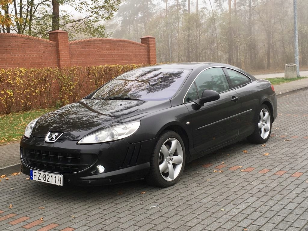 Peugeot 407 Coupe 3 0 Hdi V6 240km Full Opcja 7685473167 Oficjalne Archiwum Allegro