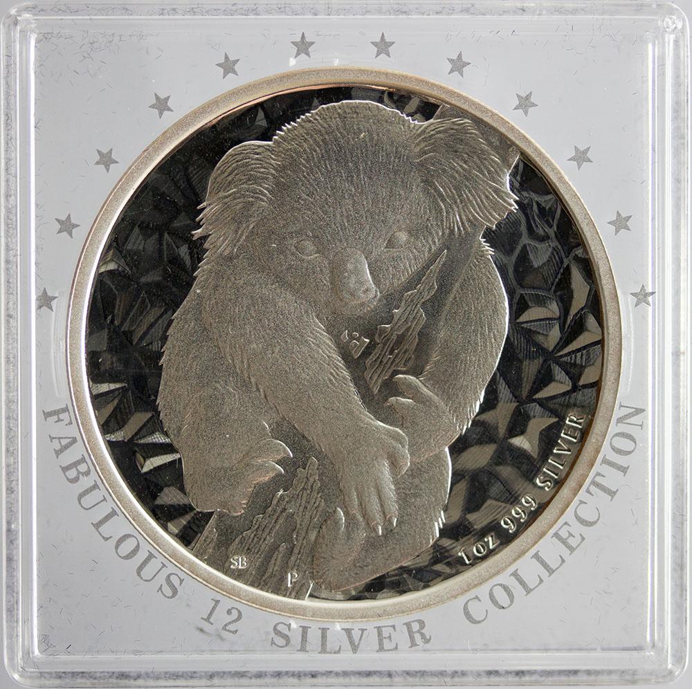 Australia 1 Dolar 2007 - Koala - Fabulous 12 +cert