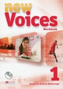 New Voices 1 Zeszyt ćwiczeń z płytą CD Gimnazjum