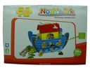BIGJIGS SORTER drewniany Arka Noego łódka 34cm