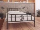 Łóżka metalowe Lak System 90x200 wzór 11 + stelaż