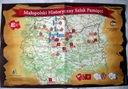 Mapa folder Małopolski Hist. Szlak Pamięci Legiony