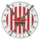 DYWIZJON 303 odznaka znaczek pin wpinka przypinka