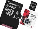 KINGSTON Karta pamięci micro 64GB CL 10 GW45/s UHS
