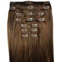 60cm CLIP IN Naturalne Włosy 6t DOPINKI doczepiane