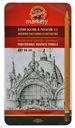 KOH I NOOR Ołówki Grafitowe 1502/II Art 8B-2H 12sz