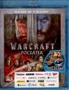 Warcraft Początek 3D + 2D [ Blu-ray ] Nowy w folii