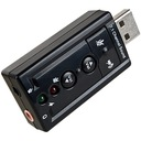 KARTA MUZYCZNA DŹWIĘKOWA 7.1 NA USB ZEWNĘTRZNA