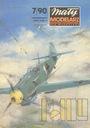 MM 7/1990 Samolot myśliwski Me-109 E