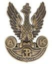 Piękna przypinka Armii Krajowej wz. 2 Orzeł AK
