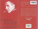 MUTTER COURAGE UND IHRE KINDER - Bertold Brecht