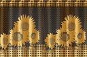Firanki SŁONECZNIKI firanka KWIAT 50 X625382 WiSaN