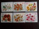 NRD - Mi.nr 2737-42 - kwiaty jesienne - czyste **