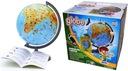 Globus ZOOLOGICZNY 220 mm + książka + karton ZOO