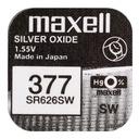 Mocna bateria srebrowa MAXELL SR SW 626 377 66 SG4