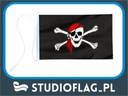 Flaga Piracka chusta bandera jachtowa 45x30cm qg