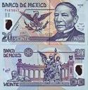 ~ Meksyk 20 Pesos 2006 P-116e Y SUPER RARYTAS UNC