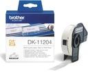 Brother etykiety DK-11204 17x54 mm QL-500BW QL-650