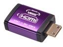 Adapter VEOZ  HDMI gniazdo - wtyk mini miniHDMI