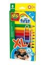 PIERWSZE KREDKI ołówkowe dla dzieci 1+ SES 14416