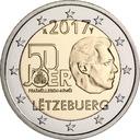 2 euro Luksemburg 50 lat Armii 2017
