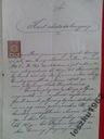 KWIT - C.K. SĄD POWIATOWY W TARNOBRZEGU - 1901 ROK