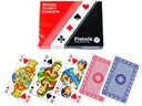 Karty do gry PIATNIK Standard 2 talie w opakowaniu