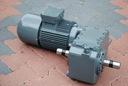 Motoreduktor dwubiegowy 0.18-1.4kw. 5,4-36obr/min.