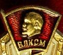 radziecka ruska odznaka lenin zsrr glowa lenina +$
