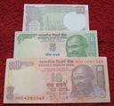 ZESTAW BANKNOTÓW INDIE !!! STAN UNC !!! SUPER