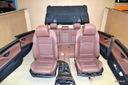 BMW F10 fotele komfort skóra boczki tunel LCEZ