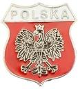 Застежка щит польские эмблема с надписью ПОЛЬША доставка товаров из Польши и Allegro на русском