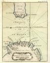 CARTE DU DETROIT DE LA MAIRE. PARIS 1764