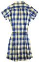 Lee shirt dress DAMSKA SUKIENKA - TUNIKA W KRATĘ S Kolor biały niebieski żółty, złoty