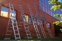 Drabina aluminiowa 3x7 KRAUSE CORDA 5,10m 030375 Długość transportowa 195 cm